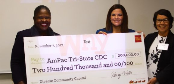 AMPAC Receives $200,000 grant from Wells Fargo Bank