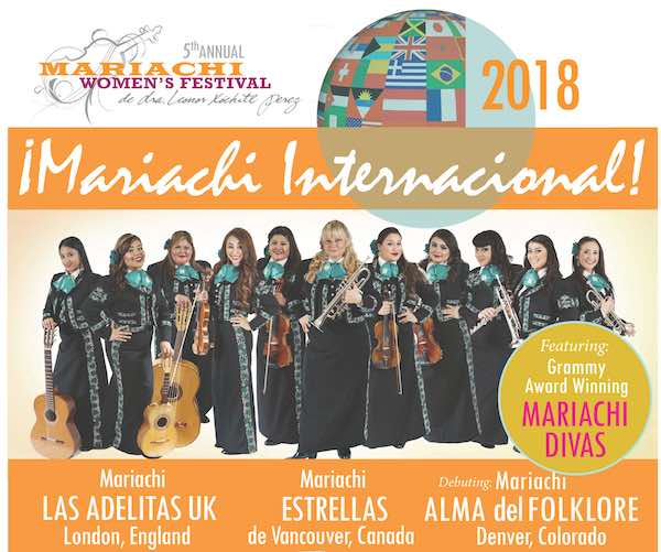 EVENT | 5th Annual Mariachi Women's Festival – July 21, 2018