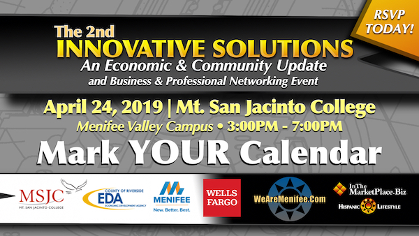 The 2nd Innovative Solutions Summit – April 24, 2019