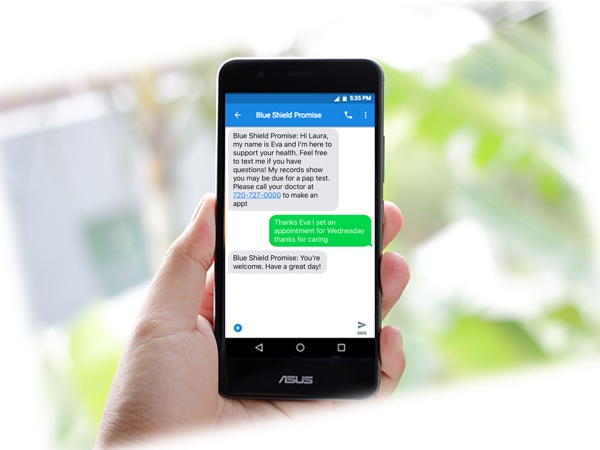 Blue Shield of California Promise Health Plan Helps Medi-Cal Members Receive Quality Care with Timely, Culturally Relevant Text Messages