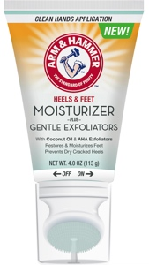 NEW PRODUCT |  Help for Heels The New ARM & HAMMER™ Foot Care Moisturizer + Gentle Exfoliators