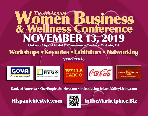 4th Annual Women Business and Wellness Conference   November 13, 2019 • Ontario, CA