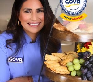 INVITE | Goya Club de Cocina Pop-Up Workshop  Nov 13, 2019 | Ontario, CA